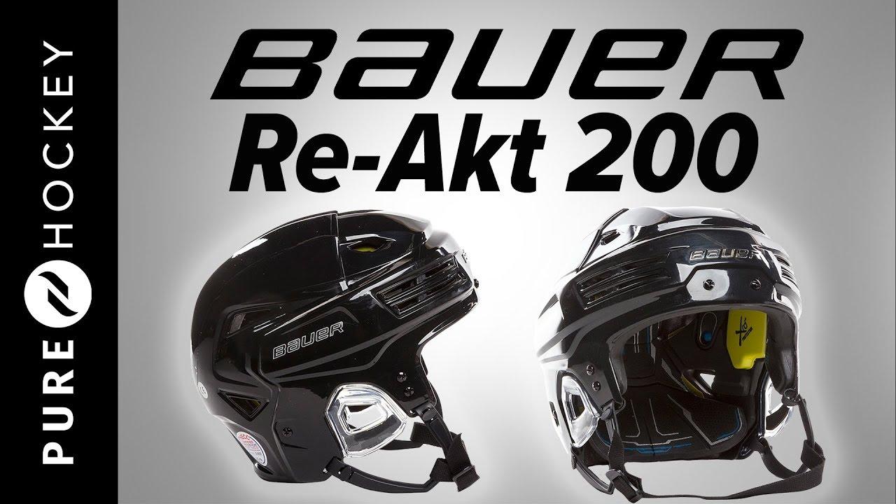 5a81058e718 Bauer Re-Akt 200 Hockey Helmet