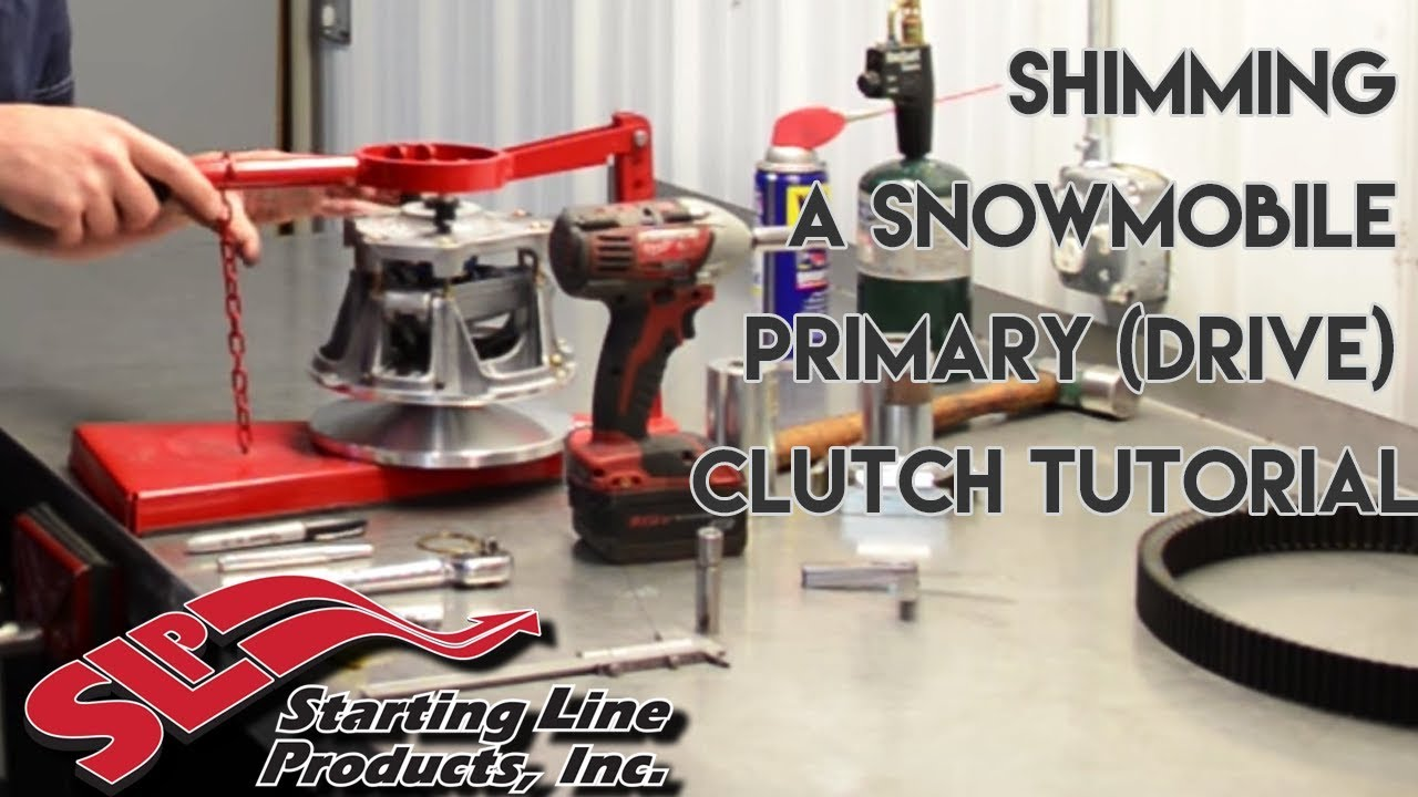 Starting Line Products | Shimming a Snowmobile Primary (Drive) Clutch  Tutorial