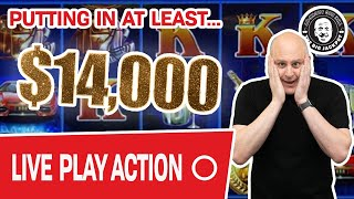 🔴 LIVE with $14,000 (at Least) Going In! 🎰 Join Me?
