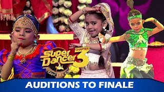 Super Dancer Chapter 3 Grand Finale: Rupsa Batabyal - The Super Finalist, Will She Win?
