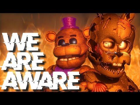 [FNAF SFM] We Are Aware by Dolvondo (ft. CG5)