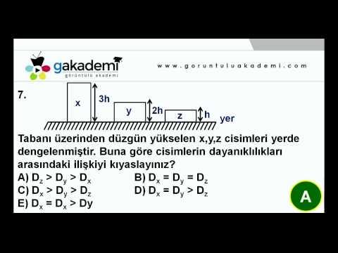 9.Sınıf Fizik Görüntülü Eğitim Seti ( Soru Çözümleri)