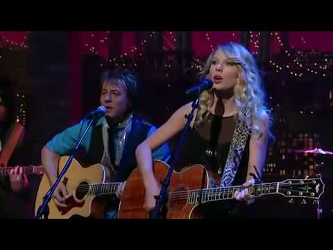 Taylor Swift Fearless Live On Letterman