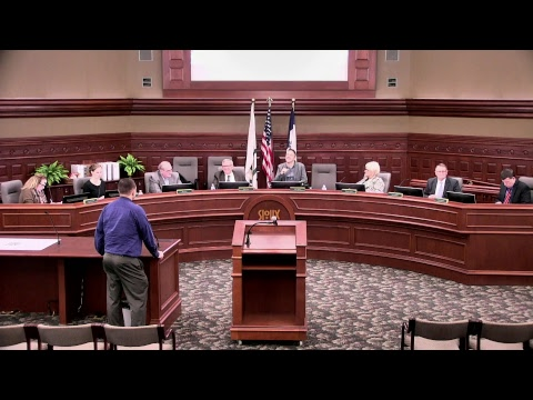 City of Sioux City Council Meeting - January 7, 2018