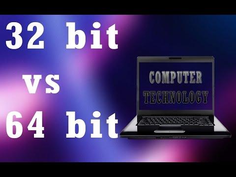 32 bit vs 64 bit explained   what is the 64 bit computing advantage