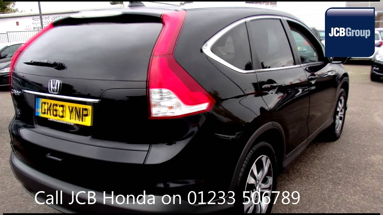 2013 honda cr v sr crystal black metallic gk63ynp for sale at jcb honda ashford youtube. Black Bedroom Furniture Sets. Home Design Ideas