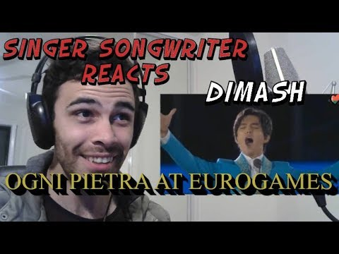 Dimash at European Games Ogni Pietra Olympico - Singer Songwriter Reacts