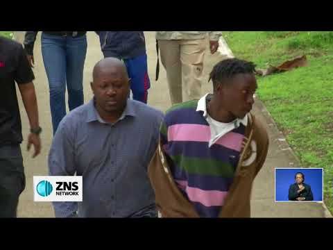 THREE CHARGED WITH ROCK CRUSHER MURDER