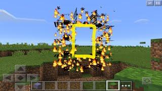 ✔ Fire Portal Trick - Minecraft PE