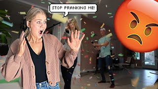 PRANKING MY WIFE FOR 24 HOURS STRAIGHT!