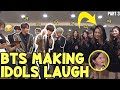 WHEN BTS CAN MAKE IDOLS LAUGH PART 3 / BTS FUNNY MOMENTS