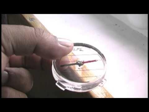 To the Pole 9: Compass near North Pole