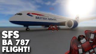 BA 787 Flug!   SFS   Roblox