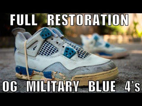 OG 1989 MILITARY BLUE 4 FULL RESTORATION
