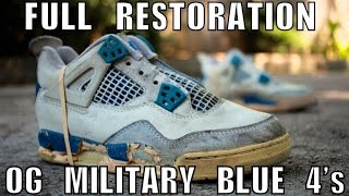 OG 1989 MILITARY BLUE 4 FULL RESTORATION(Thanks for Watching, let me know your thoughts on this video and restoration down below in the comments! Lets get 3K likes y'all! Make sure to subscribe to my ..., 2015-09-22T23:00:00.000Z)