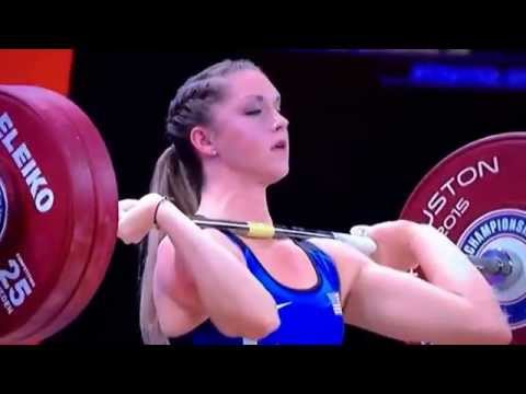 Mattie Rogers 126kg Clean and Jerk