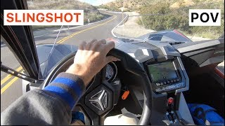Polaris Slingshot Grand Touring POV Drive