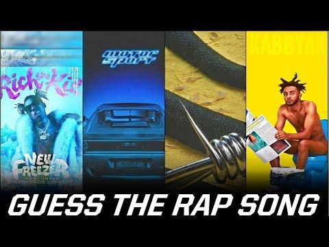 Guess The Rap/Hip Hop Song 2017