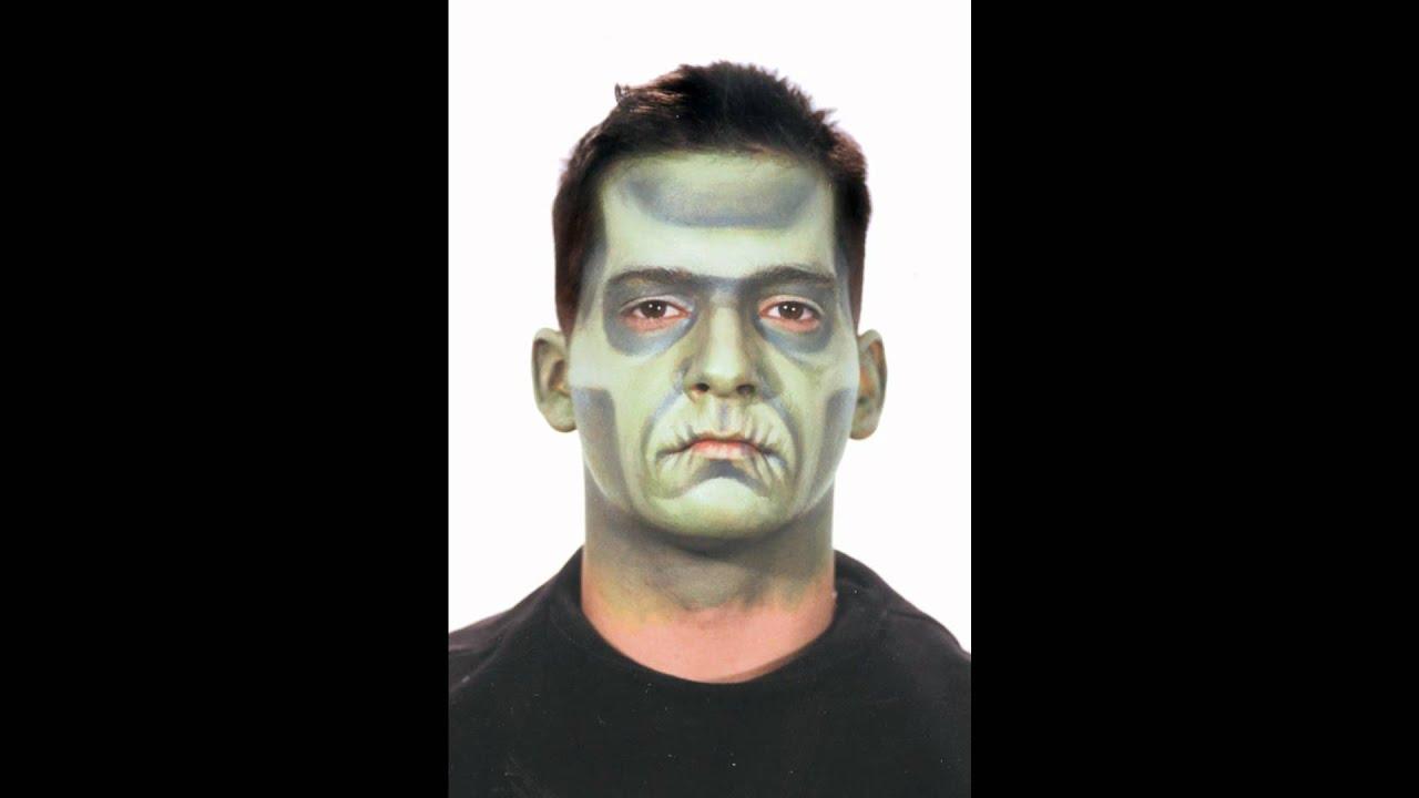 Frankenstein makeup tutorial choice image any tutorial examples monster kit slideshow youtube baditri choice image baditri Images