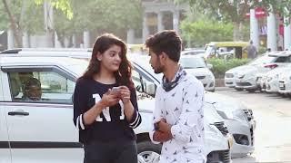 Walking Next  TO Girls prank|| raju bharti