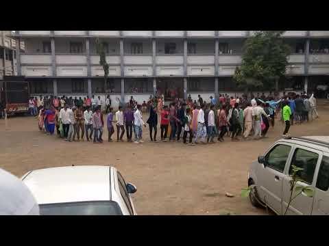 Jhalod college timli dance by akshay damor