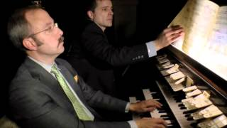 Mark Dwyer plays Bach Toccata in F, BWV 540 played on restored pipe organ in Brooklyn