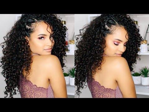 GRWM: Event MU, Curly Hair + Outfit thumbnail