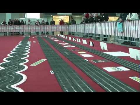 230 Meter lange, 4-spurige Ninco Rennbahn Faszination Modellbau März 2012 Movie 2