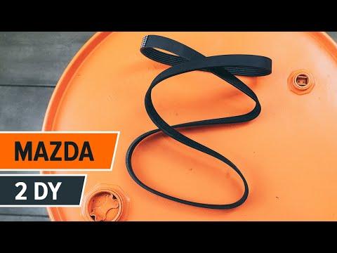 How to replaceAlternator beltonMAZDA 2 DY TUTORIAL | AUTODOC
