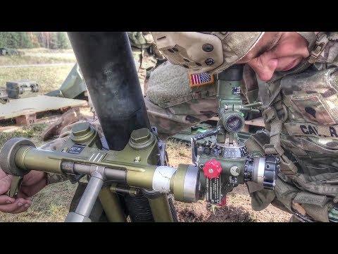Live-fire Mortar Range: M252A1 81mm Mortar System