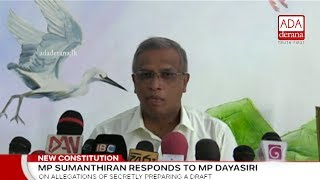 Sumanthiran responds to Dayasiri