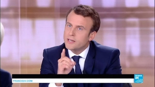 LE DÉBAT - Emmanuel Macron :