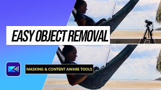 How to Remove Objects from Video in 2 Ways | PowerDirector App Tutorial
