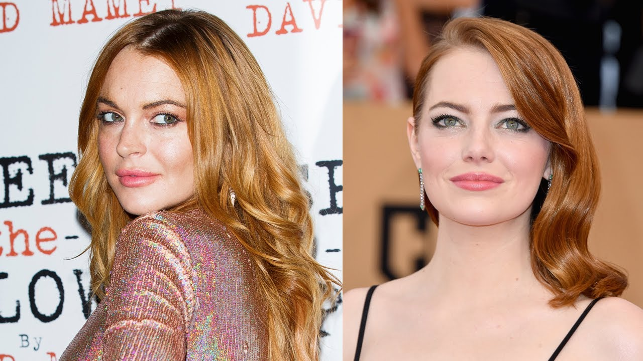 Lindsey Lohan Asks Emma Stone To Remake Mean Girls Invites Every Celeb To Her Birthday