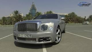 Bentley Mulsanne Test Drive Review | UAE