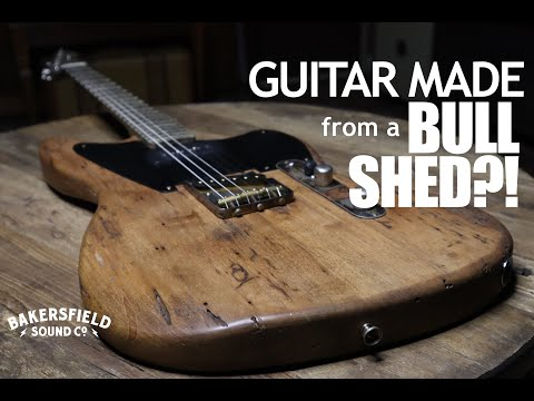 Guitar Made From A Bull Shed?! Demo An LSL Instruments Silverlake From The Barnwood Series!