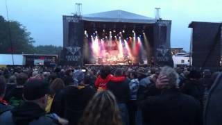 All englands eyes med Magnum Sweden Rock 2014