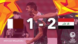 Video Gol Pertandingan Qatar U-23 vs Iraq U-23