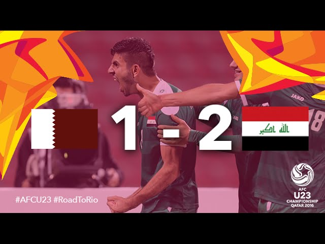 Video: U23 Qatar vs U23 Iraq