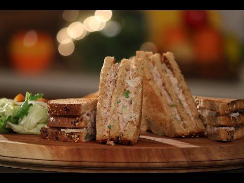 Tuna Sandwich | Not So Junky - By Chef Siddharth | Sanjeev Kapoor Khazana