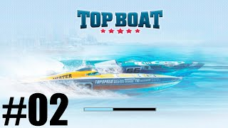 GAMEPLAY TOP BOAT CORRIDA NAVAL MAIS RADICAL DO MUNDO ANDROID #02