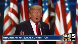 FULL SPEECH: Donald Trump - Republican National Convention - THE NEXT PRESIDENT OF THE USA?