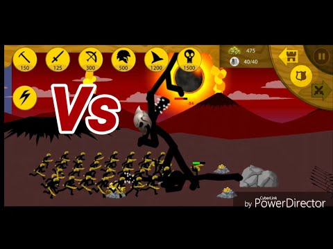 Stick War Legacy - Final Boss! 40 Swordwrath Vs Boss! EPIC