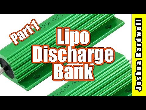 Make a LiPo Load Bank Battery Discharger | PART 1