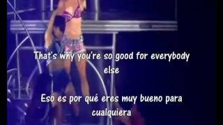 Britney Spears Trouble for me subtitulos español ingles