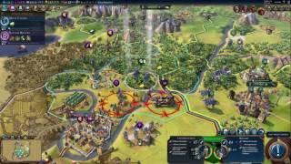 ASMR Gaming: Civilization VI (Cleopatra - Egypt) City Control #8