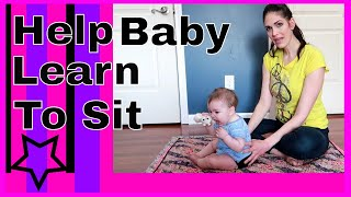 Help Baby sit up
