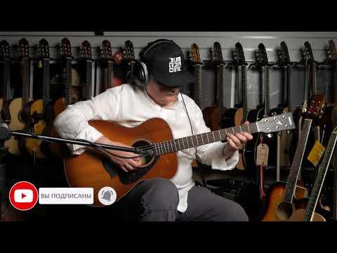 Обзор акустической гитары Yamaha FS800 SB из массива ели