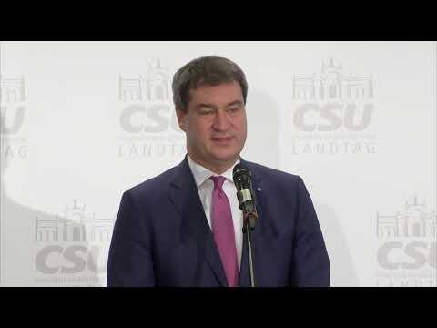 CSU-Machtkampf entschieden: Markus Söder setzt sich als Seehofer-Nachfolger durch
