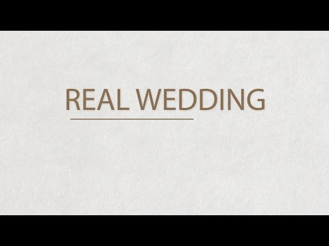 Real Wedding - Mark & Helen